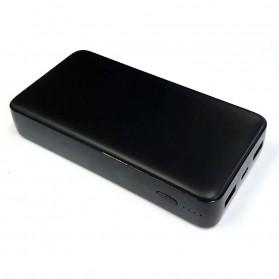 Baterai & Charger - GARAS Power Bank USB Type C PD Charging QC3.0 20000mAh - PP-2007 - Black