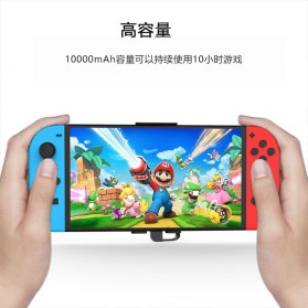 GuliKit Power Bank Nintendo Switch USB Type C 10000mAh - M10P - Black - 3