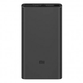 Xiaomi Power Bank 3 USB Type C 10000mAh (Replika 1:1) - Black