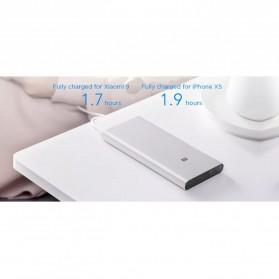 Xiaomi Power Bank 3 USB Type C 10000mAh (Replika 1:1) - Black - 5
