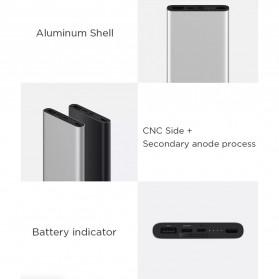 Xiaomi Power Bank 3 USB Type C 10000mAh (Replika 1:1) - Black - 7