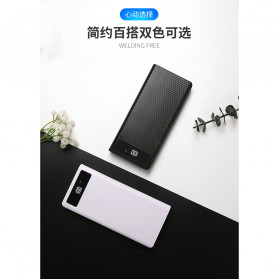 ROVTOP DIY Power Bank Case 8x18650 2 Port + Display - X8 - Black - 10