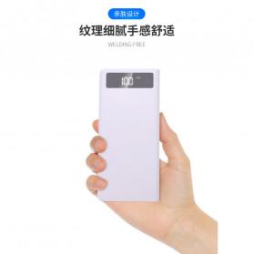ROVTOP DIY Power Bank Case 8x18650 2 Port + Display - X8 - Black - 4