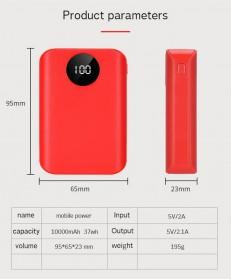 IXUANER DIY Power Bank Case 3x18650 2 USB Port + 3 Input Type-C Lightning Micro USB - IR24 - Black - 5