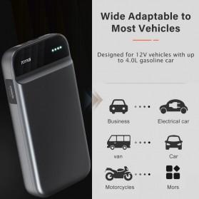 Baterai & Charger - 70mai Portable Car Jump Starter Mobil with Power Bank Real 11000mAh - PS01 - Black