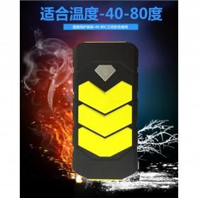 WUYUANYU Power Bank Car Jump Starter Emergency 10000mAh 600A 12V - HYY-A009 - Black/Yellow - 5