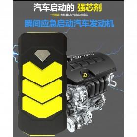 WUYUANYU Power Bank Car Jump Starter Emergency 10000mAh 600A 12V - HYY-A009 - Black/Yellow - 6