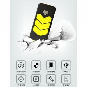WUYUANYU Power Bank Car Jump Starter Emergency 10000mAh 600A 12V - HYY-A009 - Black/Yellow - 7