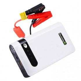 OKFLY Power Bank Car Jump Starter Emergency 12000mAh 600A 12V - YB-B005 - White