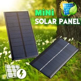 Cewaal DIY Mini Solar Panel Smartphone Powerbank 2W - CW5 - Black