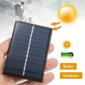 Cewaal DIY Mini Solar Panel Smartphone Powerbank 2W - CW5 - Black - 3