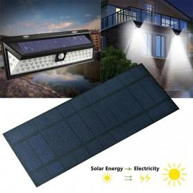 Cewaal DIY Mini Solar Panel Smartphone Powerbank 2W - CW5 - Black - 5