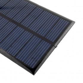 Cewaal DIY Mini Solar Panel Smartphone Powerbank 2W - CW5 - Black - 8