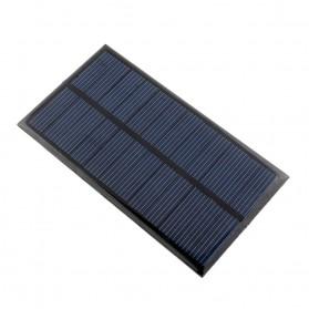 Cewaal DIY Mini Solar Panel Smartphone Powerbank 2W - CW5 - Black - 9