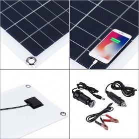 Cewaal DIY Solar Panel RV Car Boat 30W - CW6 - Black - 3