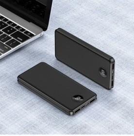 WST Power Bank Slim 2 Port USB Type C 10000mAh - Y55 - Black