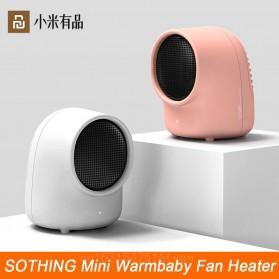 Sothing Kipas Angin Pemanas Warmbaby Electric Heater - White