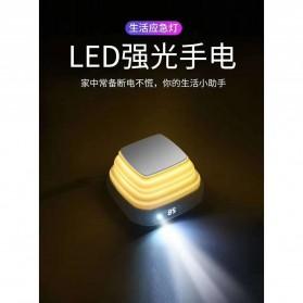 Pibox Powerbank Display LED Built-in USB Type C + Lightning 10000mAh - PG03 - Gray - 2
