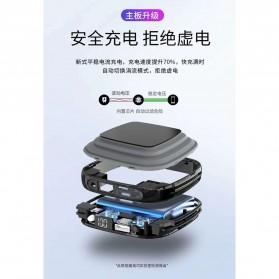 Pibox Powerbank Display LED Built-in USB Type C + Lightning 10000mAh - PG03 - Gray - 5