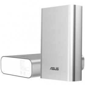 Asus ZenPower Power Bank 10050mAh with Silicon Bumper - Silver