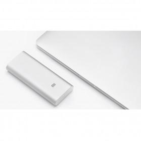 Xiaomi Power Bank 16000mAh (ORIGINAL) - Silver - 5