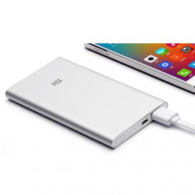 Xiaomi Power Bank 5000mAh (ORIGINAL) - Silver