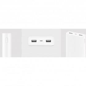 Xiaomi Power Bank 20000mAh Gen2 (ORIGINAL) - White - 3