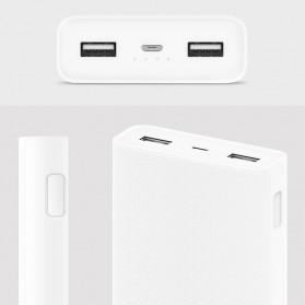 Xiaomi Power Bank 20000mAh Gen2C (ORIGINAL) - White - 2