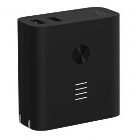 Xiaomi ZMI Power Bank Smart Charger Dual USB Port 5000mAh - Black - 2