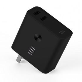 Xiaomi ZMI Power Bank Smart Charger Dual USB Port 5000mAh - Black - 3