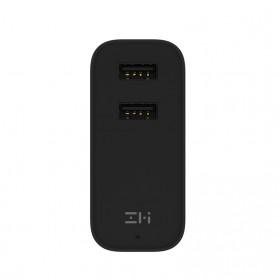 Xiaomi ZMI Power Bank Smart Charger Dual USB Port 5000mAh - Black - 4