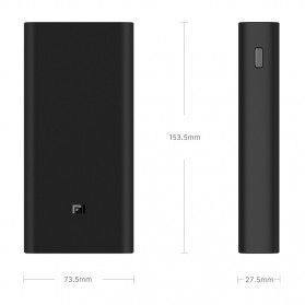Xiaomi Power Bank 3 20000mAh - PLM07ZM (ORIGINAL) - Black - 8