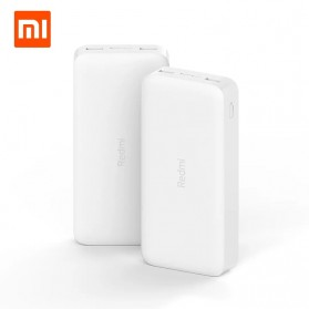 Xiaomi Redmi Power Bank Quick Charge 2 Port 20000mAh - PB200LZM - White