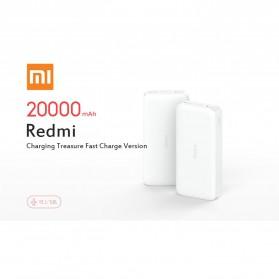 Xiaomi Redmi Power Bank Quick Charge 2 Port 20000mAh - PB200LZM - White - 2