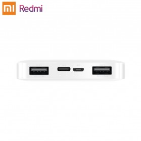 Xiaomi Redmi Power Bank Quick Charge 2 Port 20000mAh - PB200LZM - White - 5