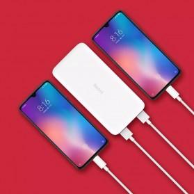 Xiaomi Redmi Power Bank Quick Charge 2 Port 20000mAh - PB200LZM - White - 6