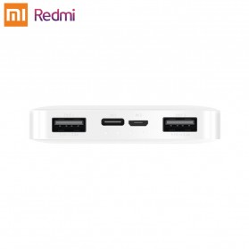 Xiaomi Redmi Power Bank Quick Charge 2 Port 10000mAh - PB100LZM - White - 4