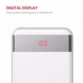 Yoobao Power Bank Lightning+Micro USB Input 20000mAh - S20Q - White - 3