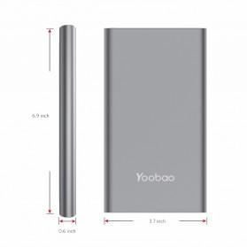 Yoobao Power Bank Lightning+Micro USB Input 20000mAh - A2 - Blue - 3