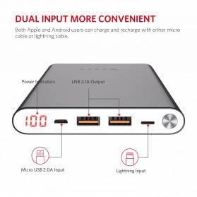 Yoobao Power Bank Lightning+Micro USB Input 20000mAh - A2 - Blue - 4