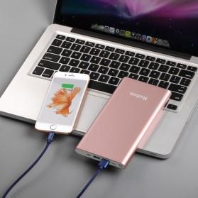 Yoobao Power Bank Lightning+Micro USB Input 20000mAh - A2 - Blue - 7