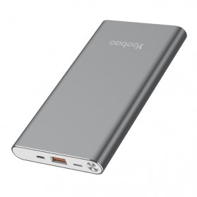 Yoobao Power Bank Ultra Slim Dual Input 10000mAh - A1 - Gray