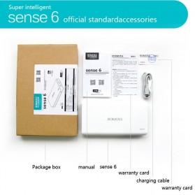 Romoss Sense 6 Power Bank 20000mAh (Replika 1:1) - White - 4