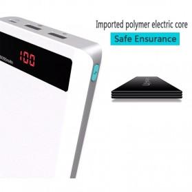 Romoss Sense 6P Power Bank 20000mAh dengan LCD Display 5V 2.1A (Replika 1:1) - White - 7