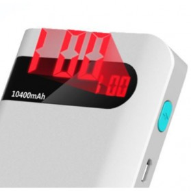 Romoss Sense 4P Power Bank 10400mAh with LCD Display (Replika 1:1) - White - 3