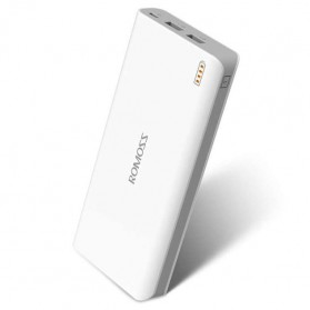Romoss Sense 6 Power Bank 2 Port 20000mAh (ORIGINAL) - White