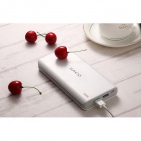 Romoss Sense 6 Power Bank 2 Port 20000mAh (ORIGINAL) - White - 2