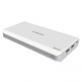 Romoss Sense 6 Power Bank 2 Port 20000mAh (ORIGINAL) - White - 6