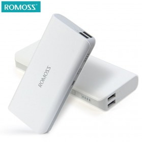 Romoss Sense 4 Power Bank 2 Port 10400mAh (ORIGINAL) - White - 1