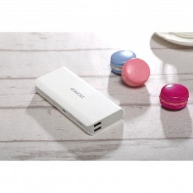 Romoss Sense 4 Power Bank 2 Port 10400mAh (ORIGINAL) - White - 4